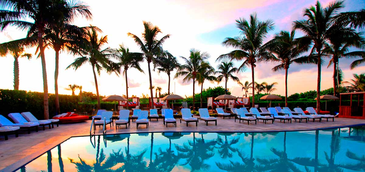 Bentley Beach Club At The Hilton South Hotel A Luxury In Miami